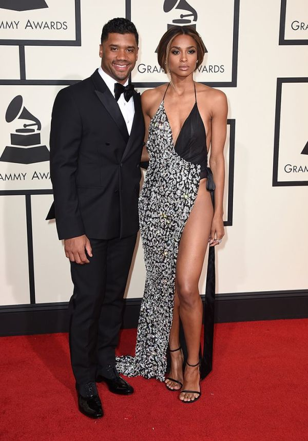 Ciara and Russell-Grammys 2016