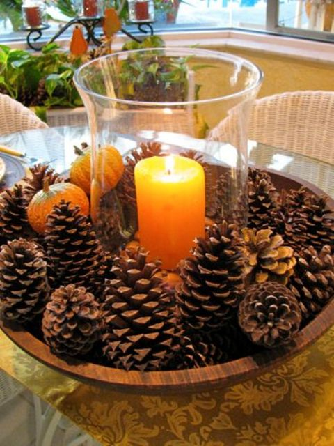pinecone-centerpieces