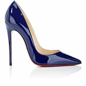 Barneys New York- Christian Louboutin So Kate Patent Leaather Pumps