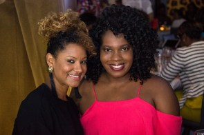 Chantel George (right)