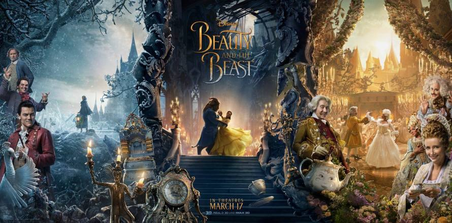 Beauty and the Beast 2017 new film poster