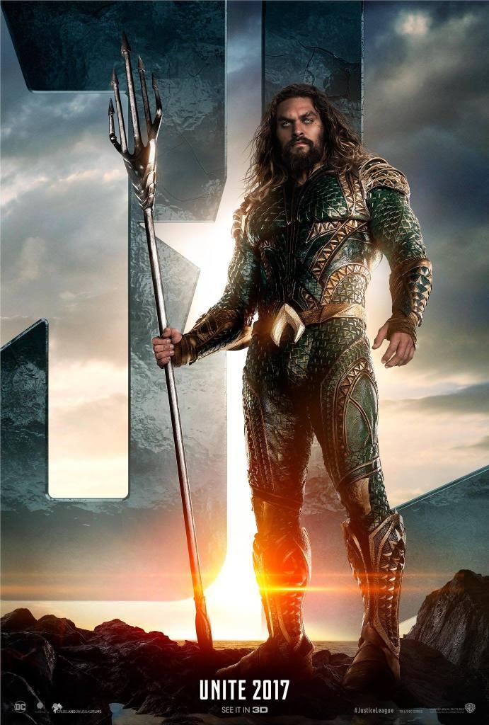 Aquaman costume - Justice League 2017 Jason Momoa