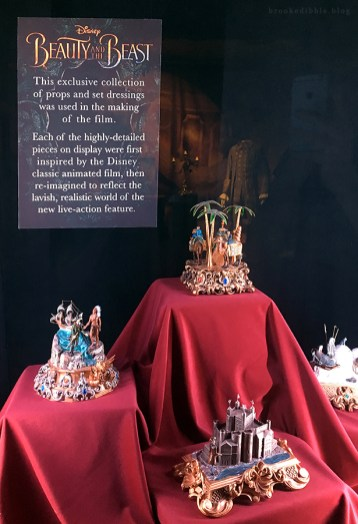 Beauty & the Beast movie props at the El Capitan Theatre