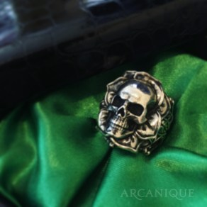 ARCANIQUE-ring-skull-rose