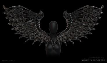 BrookeDibble-wingspieceWIP