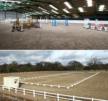 Brook Farm Training centre offers top class facilities for both horse and rider, making it a very popular competition and training venue as well as a sought after livery yard.