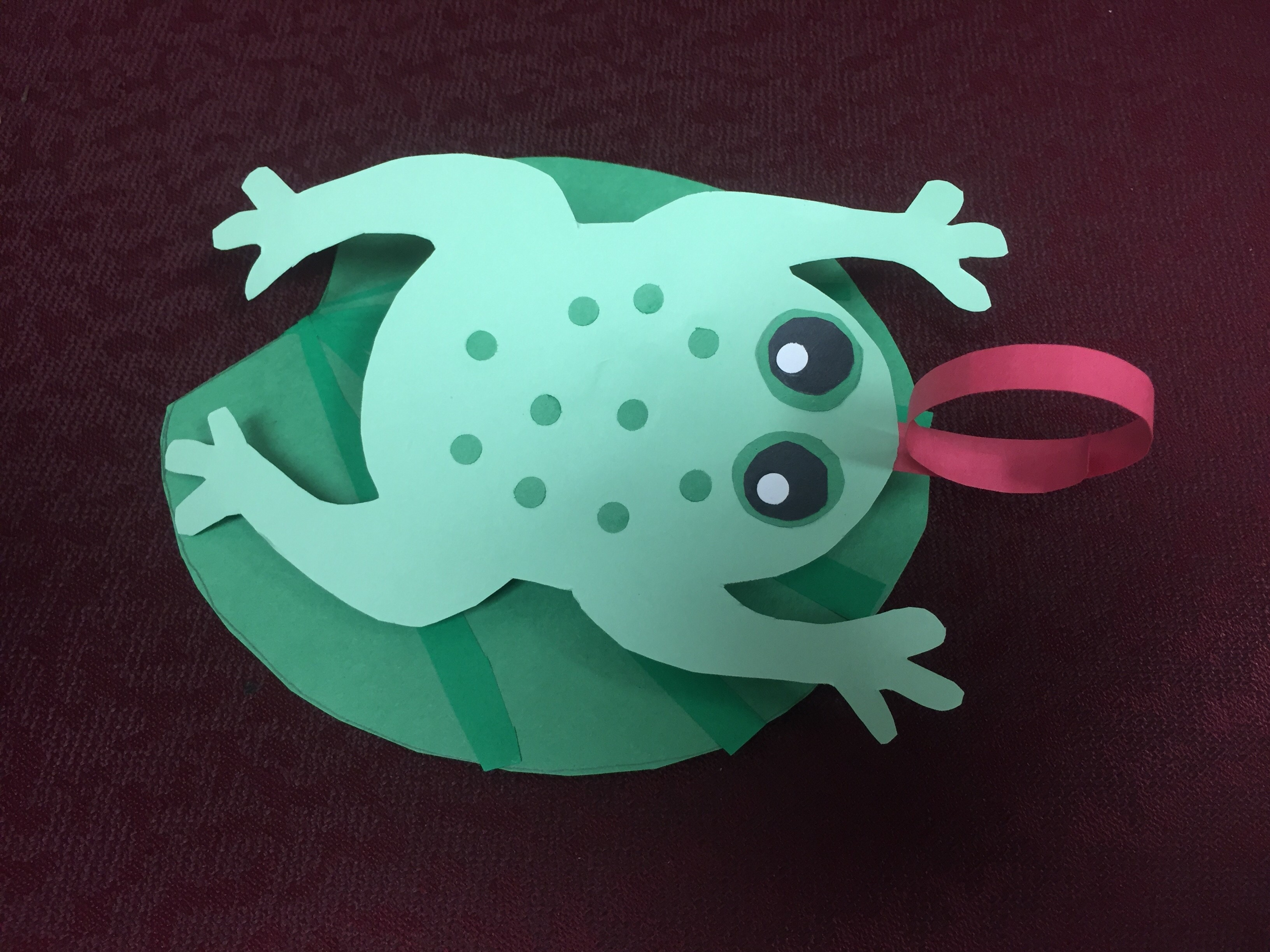 Frog And Lily Pad Craft