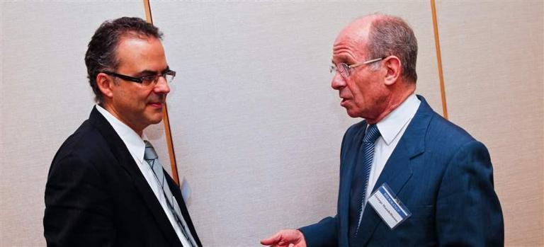 Juan Pardinas and Jorge Mandelbaum