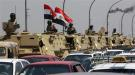 Egyptian army vehicles