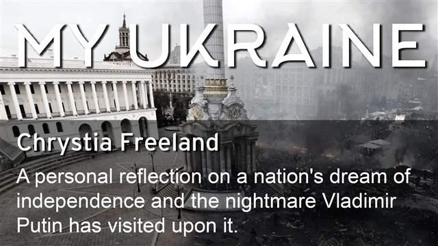 My Ukraine: A personal reflection on a nation's dream of
