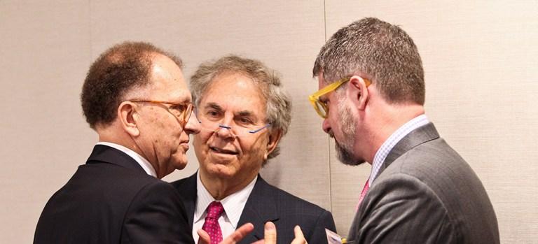 Antoine van Agtmael, Shmuel Meitar, and Tobias Brown