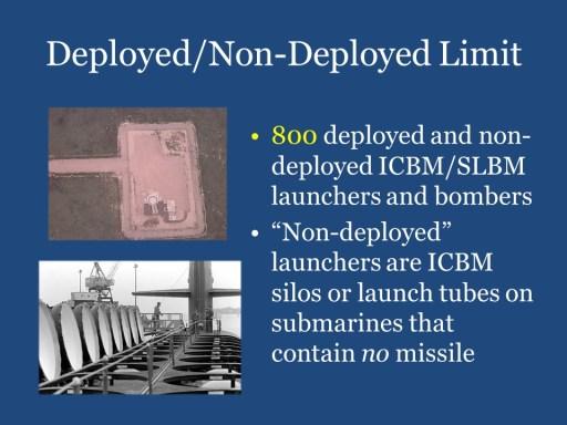 Deployed/Non-Deployed Limit