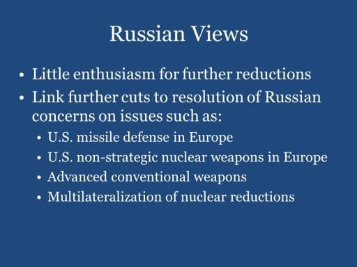 Russian Views