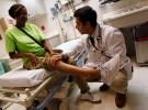 doc and patient knee exam