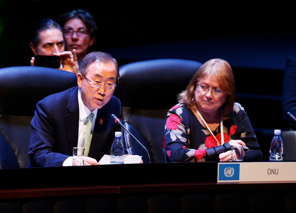Global cooperation under threat: Adapting the U.N. for the 21st century