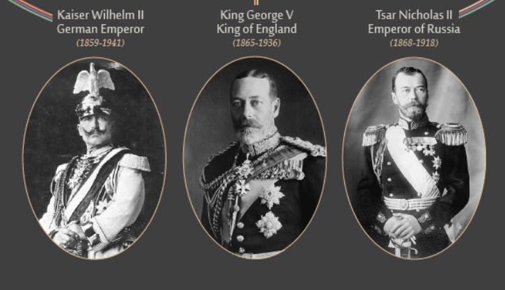Monarchs of WWI
