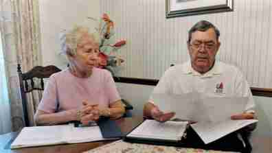 Retirees check their finances