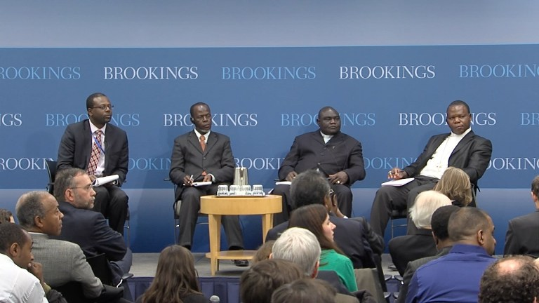 March 2014 AGI event with CAR religious leaders