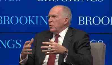 CIA Director John Brennan speaks at Brookings, July 13, 2016.