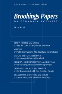 brookings papers on economic activity cover