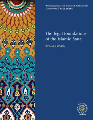 The legal foundations of the Islamic State by Mara Revkin