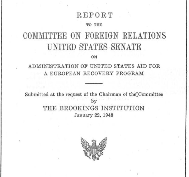 Senate Foreign Relations Committee report
