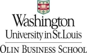 BEE WUSTL Olin logo