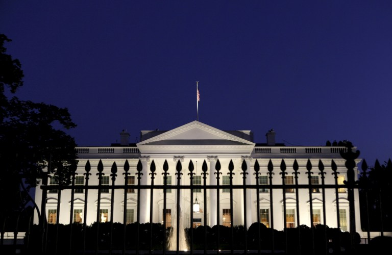 A general view of the White House in Washington in this September 30, 2013. REUTERS/Yuri Gripas