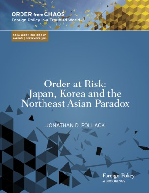 """Order at risk: Japan, Korea, and the Northeast Asian paradox"" by Jonathan D. Pollack"