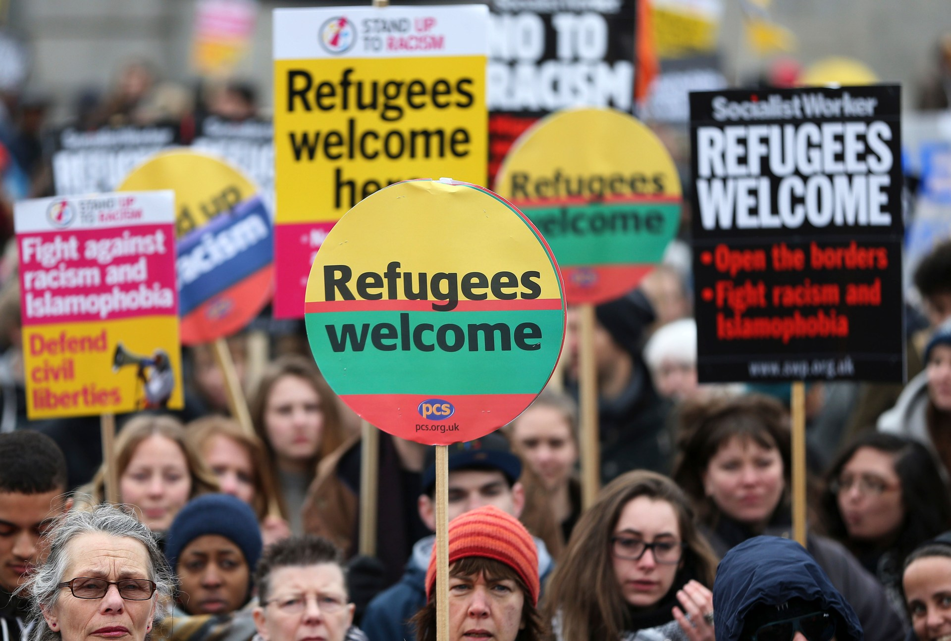Refugees: the new diaspora in Europe