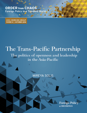 The Trans-Pacific Partnership: The politics of openness and leadership in the Asia-Pacific