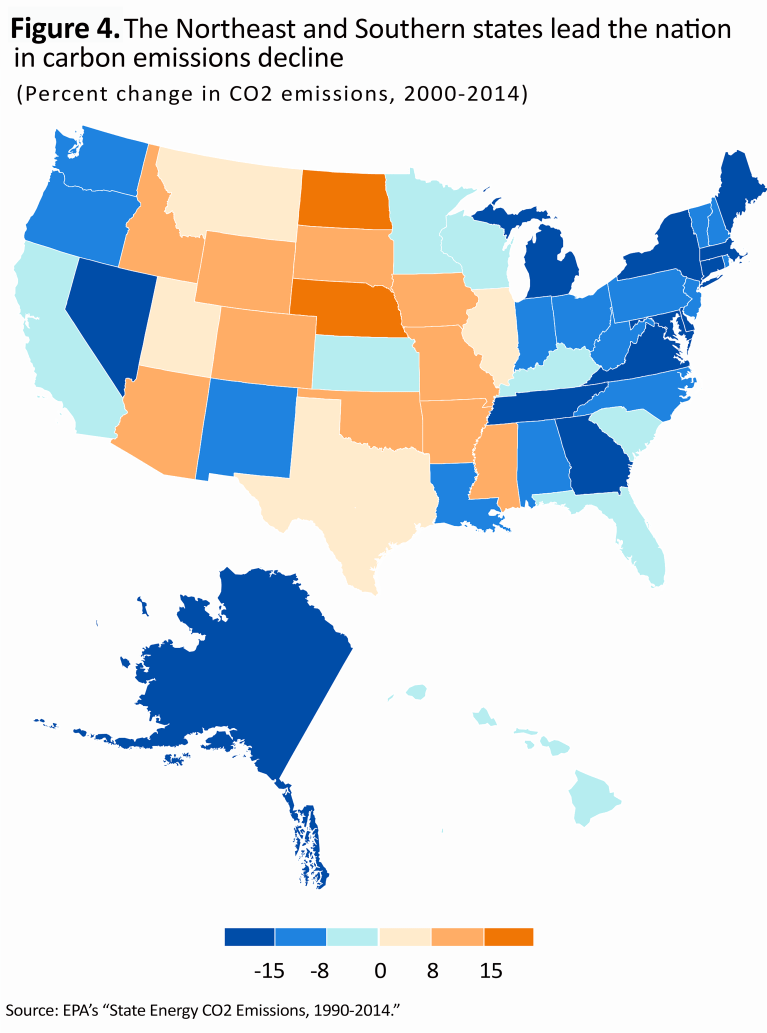Carbon Emissions by State_map