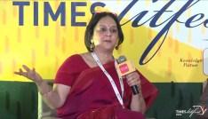 Rohini Nilekani in conversation with Vikram Singh Mehta at Times Lit Fest-Delhi 2016