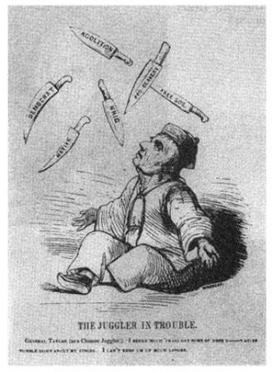 Anti-Taylor Cartoon in The John Donkey (1848)
