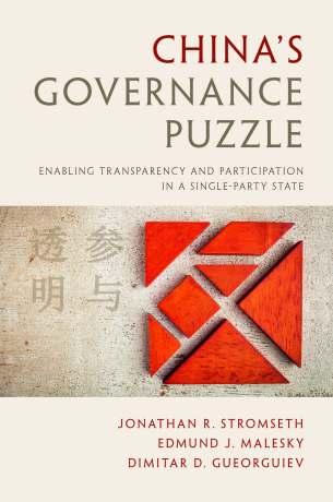 China's Governance Puzzle (Cambridge University Press, 2017)