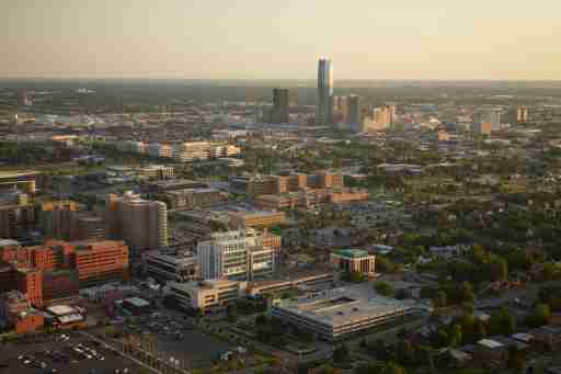 picture of the Oklahoma City innovation district