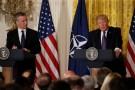 President Trump, NATO Secretary General Stoltenberg