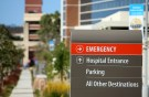 Photo: An emergency sign points to the entrance to Scripps Memorial Hospital in La Jolla, California, U.S. March 23, 2017. REUTERS/Mike Blake - RTX32G3C