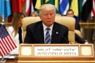 U.S. President Donald Trump takes his seat before his speech to the Arab Islamic American Summit in Riyadh, Saudi Arabia May 21, 2017. REUTERS/Jonathan Ernst