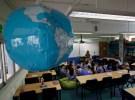 A classroom in Hong Kong