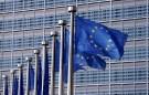 Photo: European Union flags flutter outside the EU Commission headquarters in Brussels, Belgium, April 20, 2016. REUTERS/Francois Lenoir - RTX2ASR2