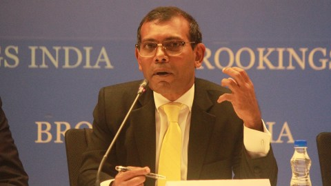 Discussion with Former President of the Maldives, Mohamed Nasheed