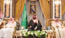 DATE IMPORTED:June 21, 2017Saudi Arabia's Crown Prince Mohammed bin Salman sits during an allegiance pledging ceremony in Mecca, Saudi Arabia June 21, 2017. Bandar Algaloud/Courtesy of Saudi Royal Court/Handout via REUTERS. ATTENTION EDITORS - THIS PICTURE WAS PROVIDED BY A THIRD PARTY. TPX IMAGES OF THE DAY