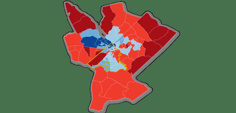 Map: broadband subscription in Augusta