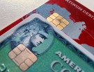 Computer chips on credit cards