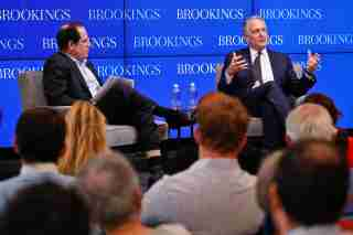 Dan Doctoroff of Sidewalk Labs with Bruce Katz, Centennial Scholar at Brookings