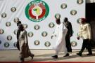 Nigeria's President Muhammadu Buhari leaves the 52nd ECOWAS Summit in Abuja, Nigeria December 16, 2017. REUTERS/Afolabi Sotunde - RC18F6568620