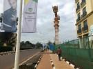 A man walks along a street in the Rwanda's capital Kigali, May 11, 2016. REUTERS/Ed Cropley - S1BETDKVJGAA