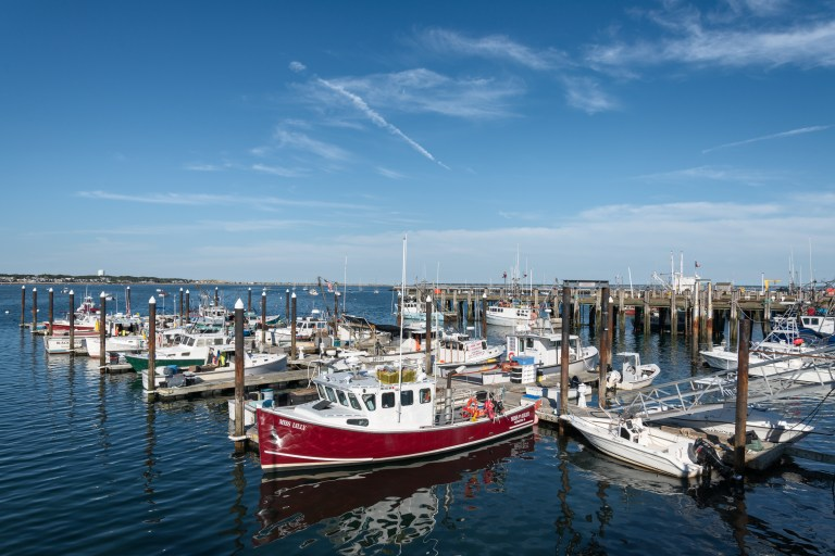 MacMillan Pier in Provincetown, Massachusetts