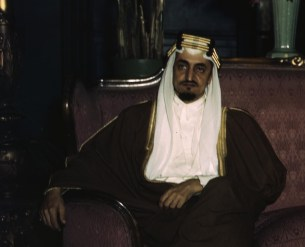 Prince Faysal in 1941. Source: Wikimedia Commons.